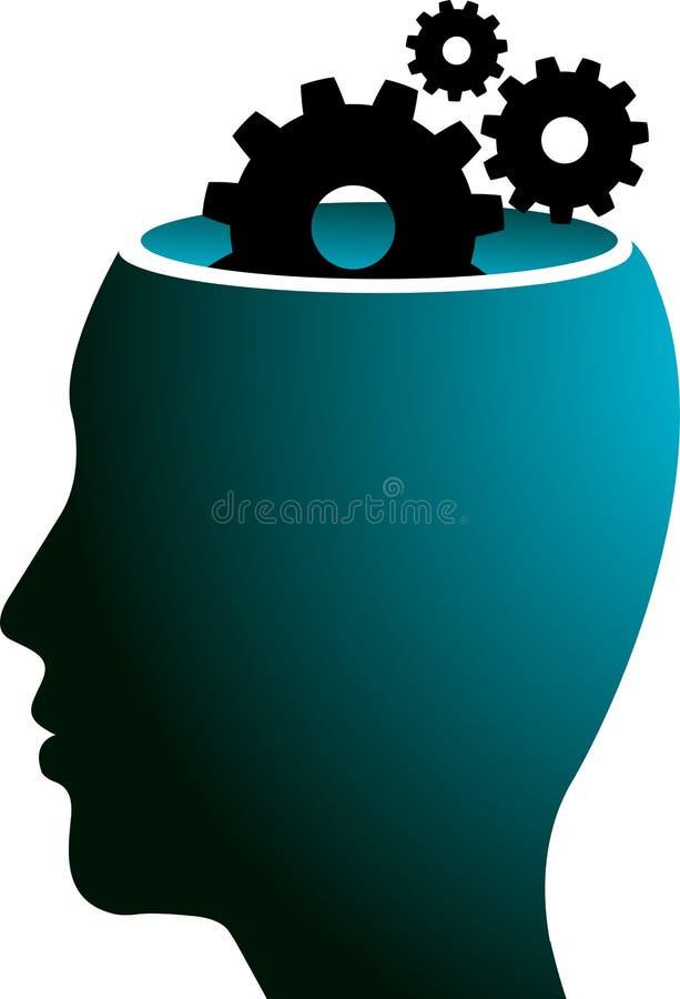 Head gear logo vector illustration