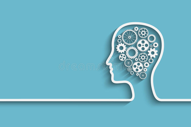 head human stock illustrationer
