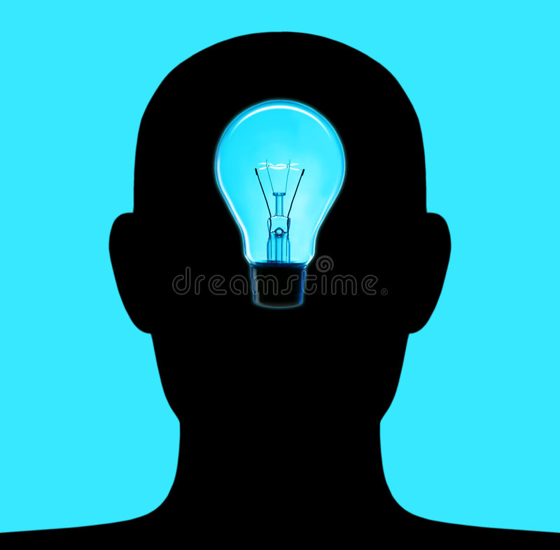 Head Lamp royalty free illustration