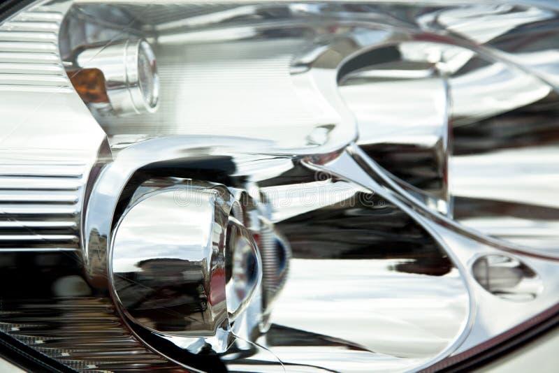 head lampa för bil arkivfoto