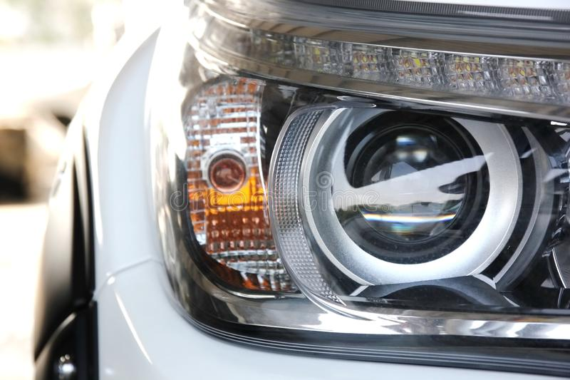 Head light lamp. Pick up Japan head light lamp new model royalty free stock photography