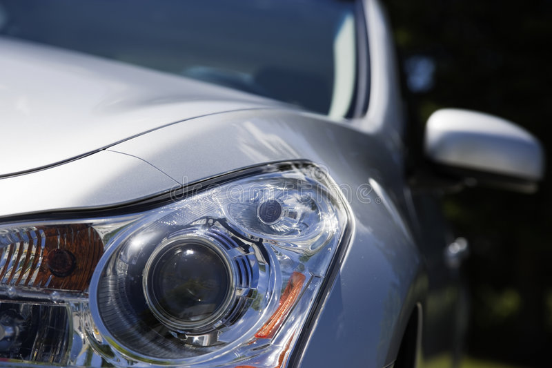 Download Head Light And Rear View Mirror Stock Images - Image: 6847804