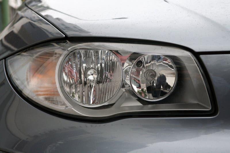Head lights stock photos