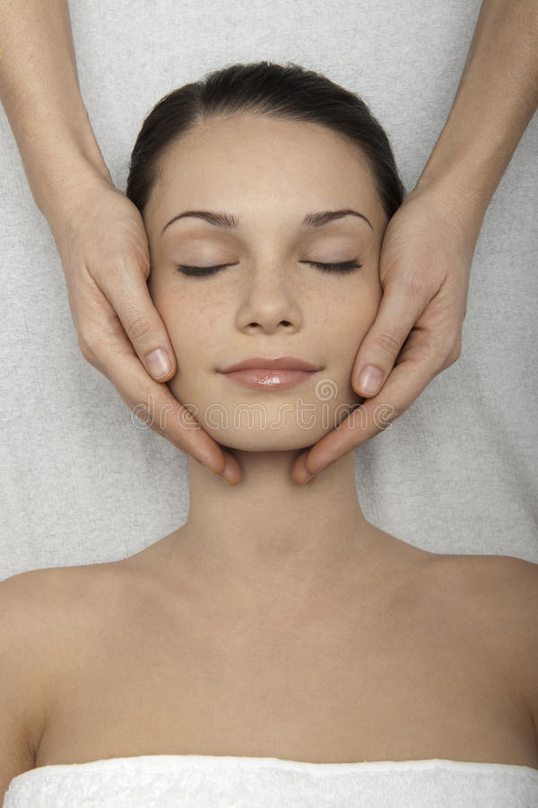 Download Head Massage stock photo. Image of freshness, closed - 15141924