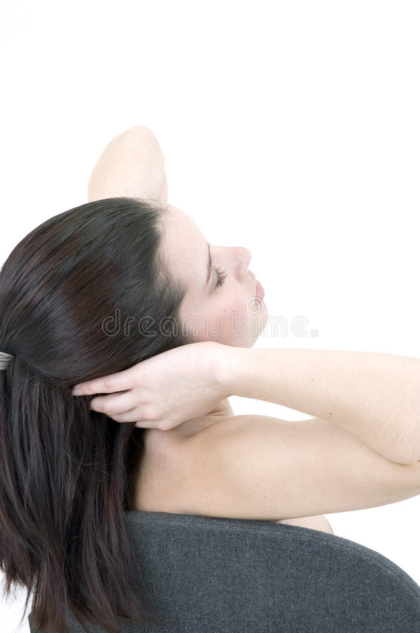 Head massage royalty free stock photography