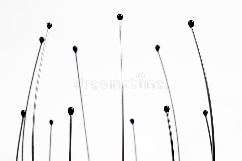 Head massager ends stock images