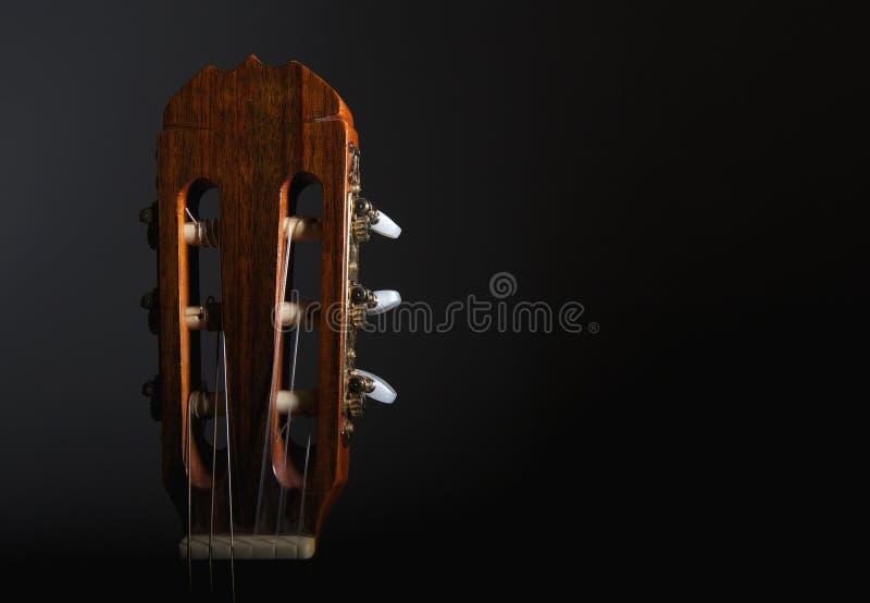 head materiel för gitarr royaltyfria foton