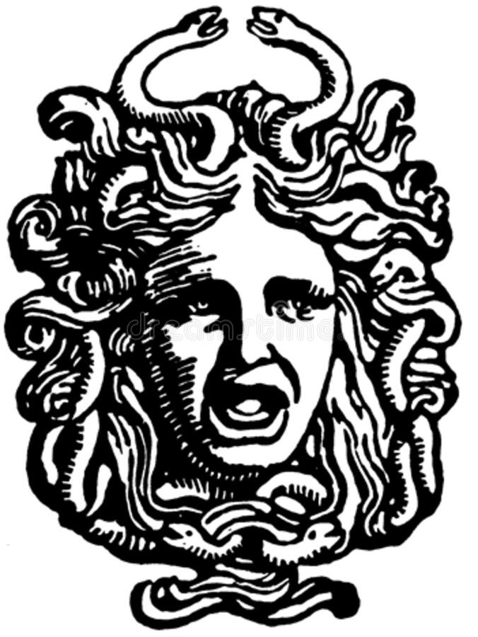 Head Of Medusa Free Public Domain Cc0 Image