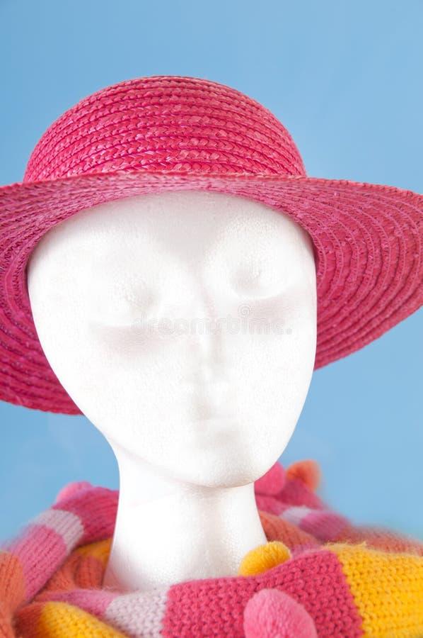 head modellera styrofoam för tillbehör arkivbild