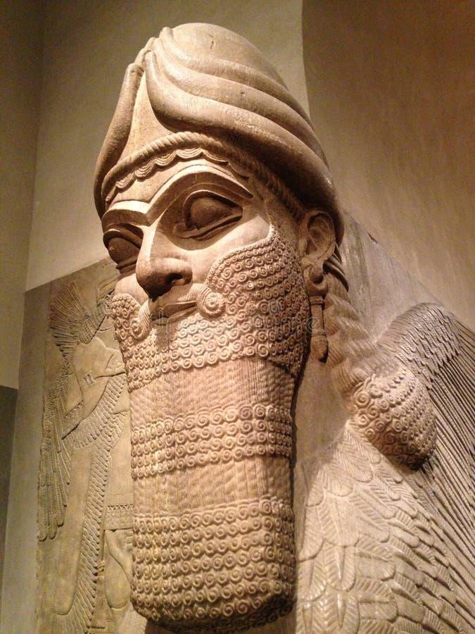 Free Head Of Lamassu In Metropolitan Museum Of Art. Stock Photos - 64553683