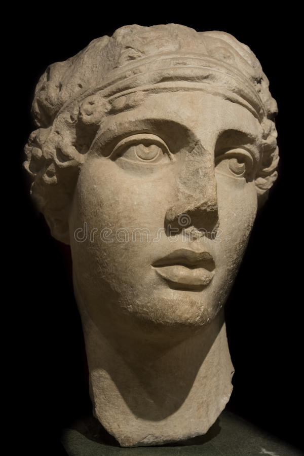 Free Head Of Sappho The Poet, Istanbul Archeology Museum, Turkey Stock Images - 64612014