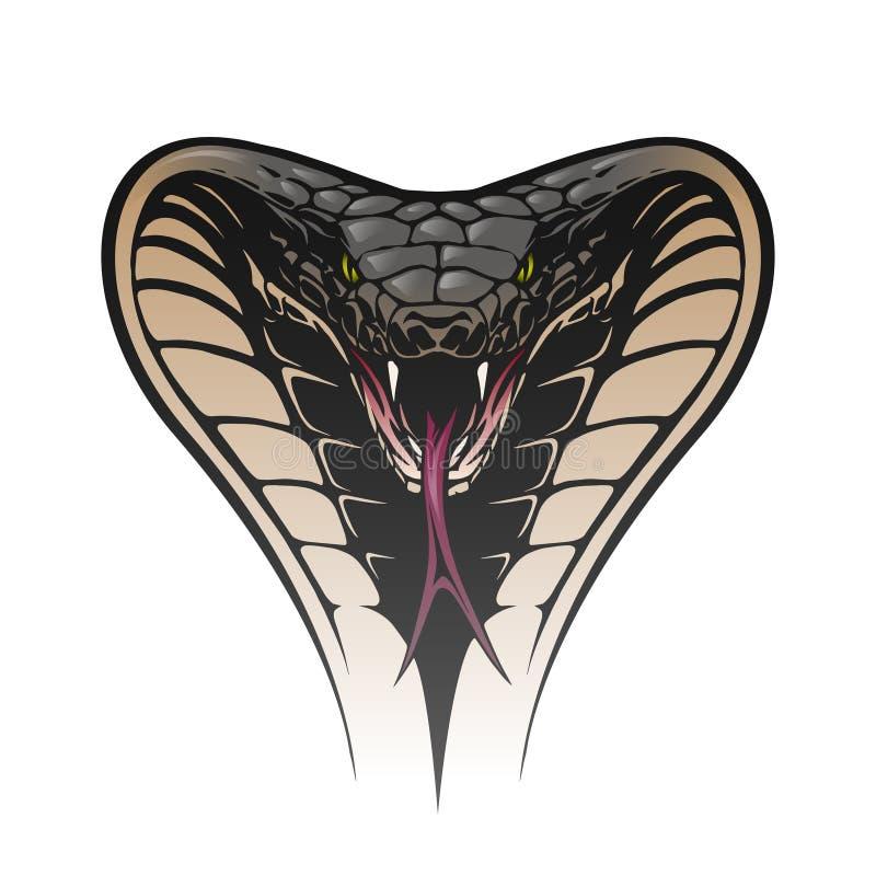head ormen vektor illustrationer
