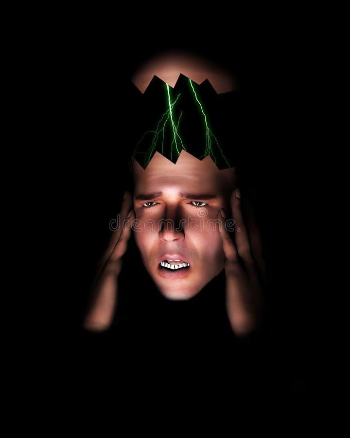 Head Pain 4 royalty free stock image