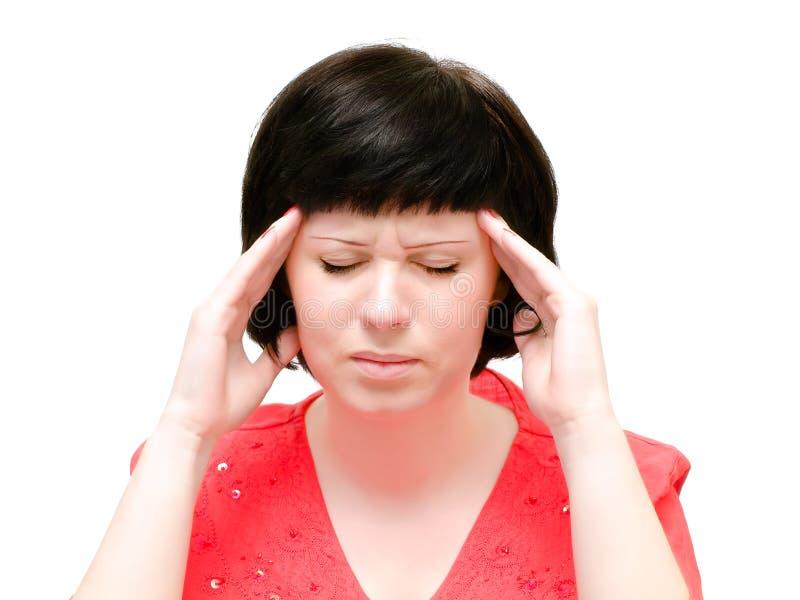 Head pain royalty free stock image