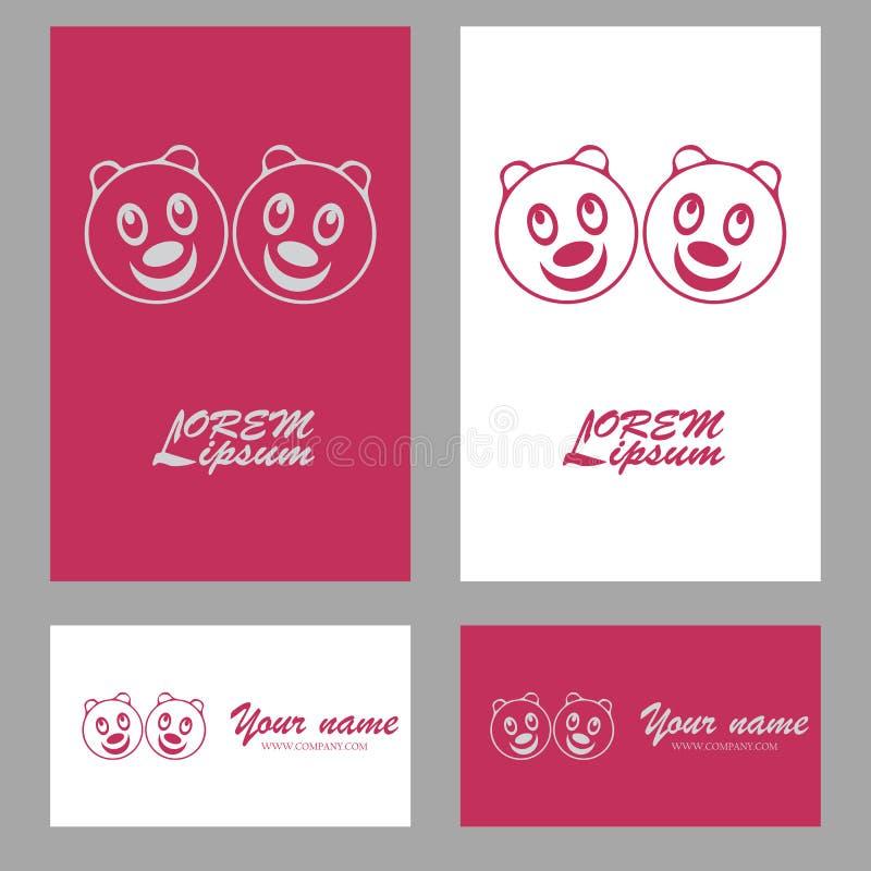 Head Panda Symbol Logo Stock Vector Illustration Of Illustration