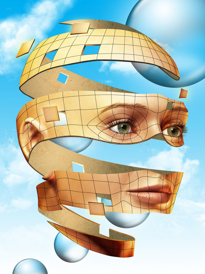 Download Head Peel Royalty Free Stock Photo - Image: 12795005