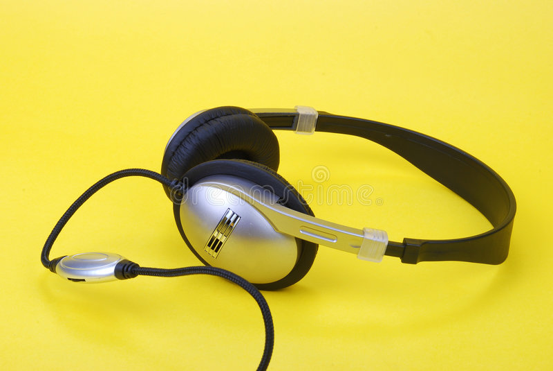 Download Head phone stock photo. Image of listening, interior, headset - 4198548