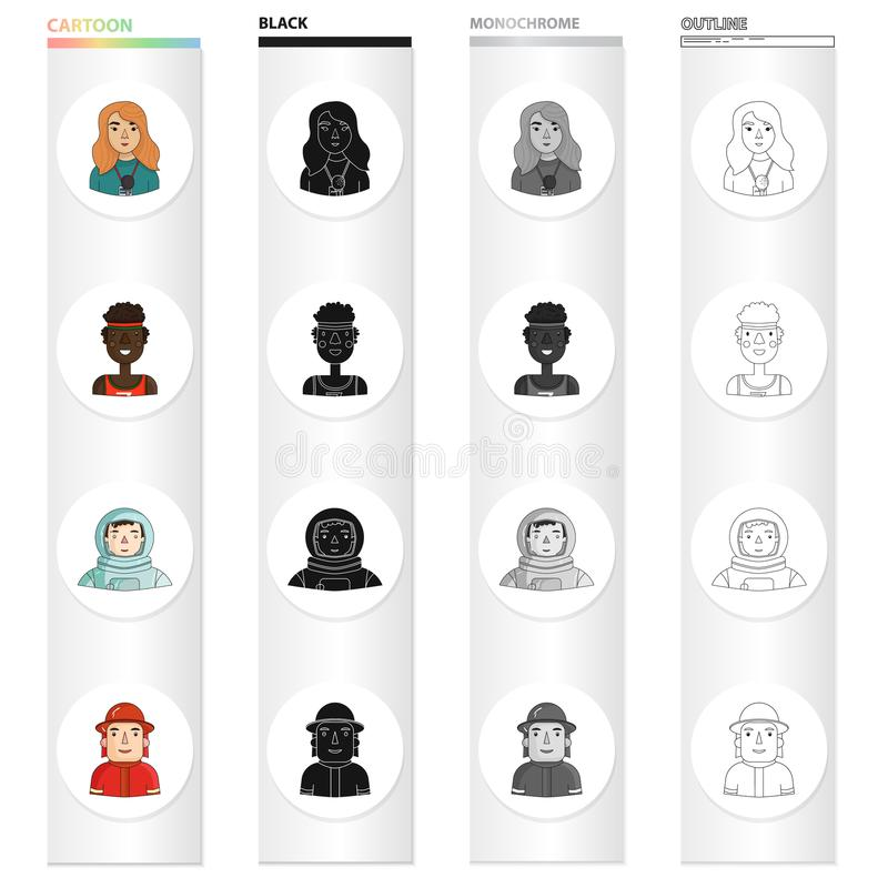 Free Black and White Occupations Outline Clipart - Clip Art Pictures -  Graphics - Illustrations