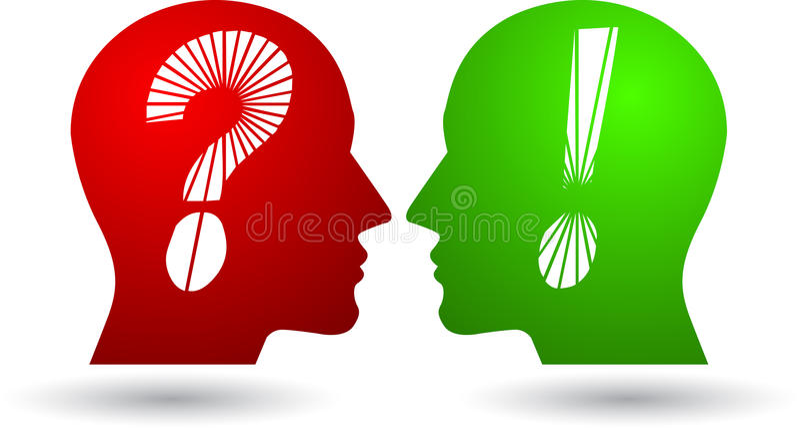 Download Head questions logo stock vector. Illustration of improve - 20410175