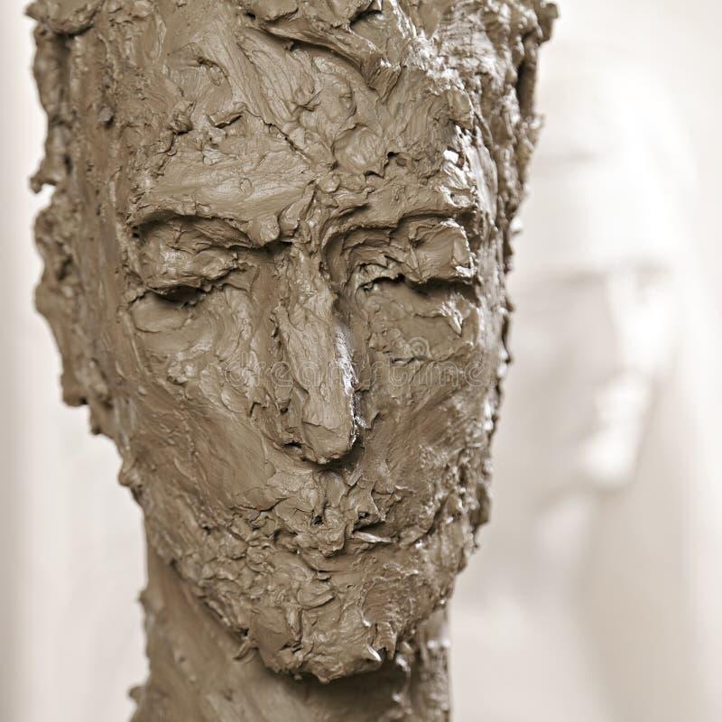 Head Sculpture Stock Photography