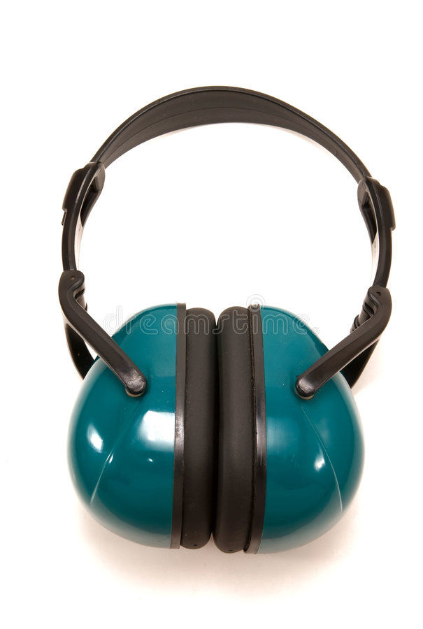 Free Head Set To Block Out Noise Stock Image - 4997011