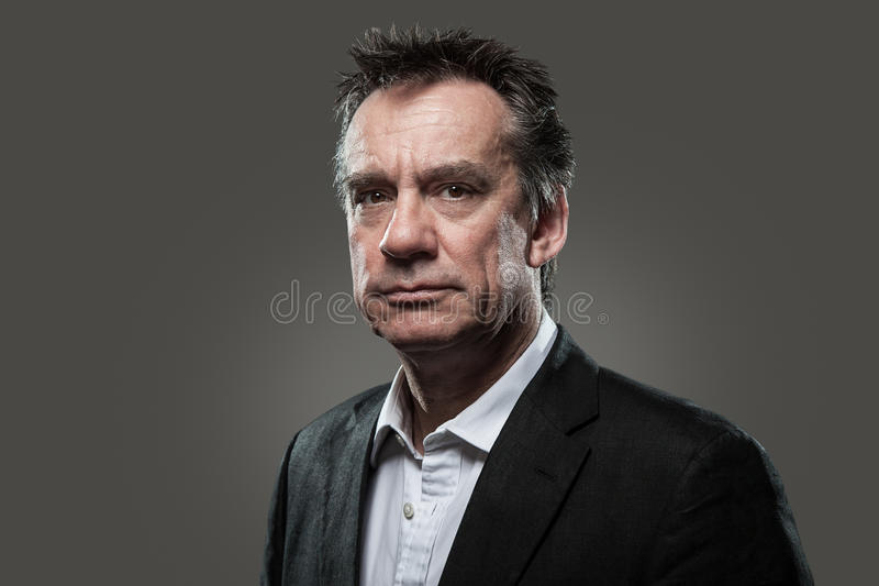 Download Head Shot Of Business Man In Suit High Contrast Stock Image - Image: 24859777