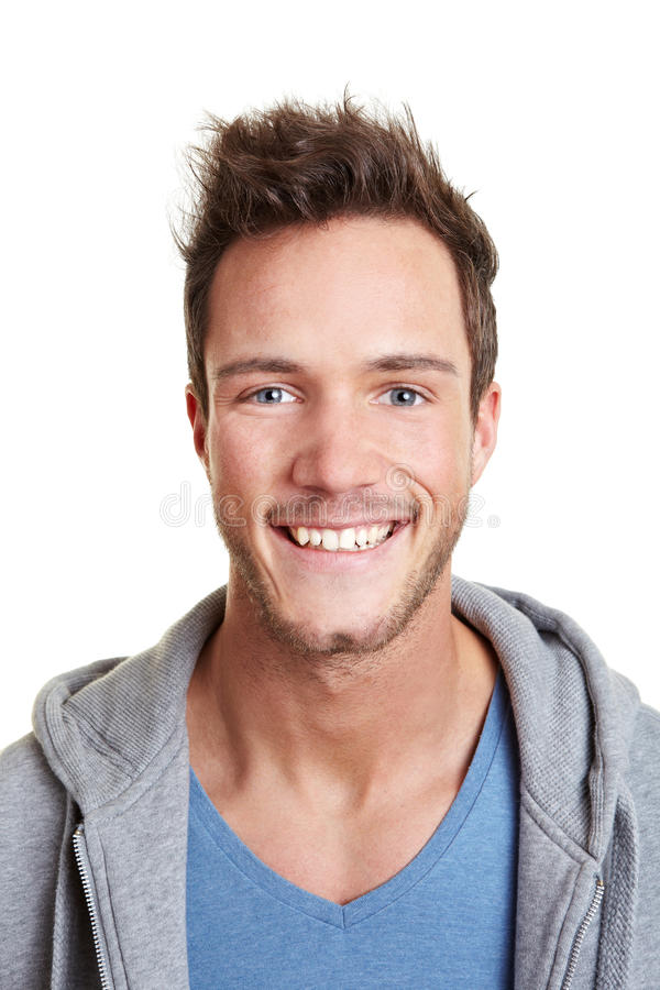 Download Head Shot Of Happy Smiling Man Stock Photo - Image: 23386680