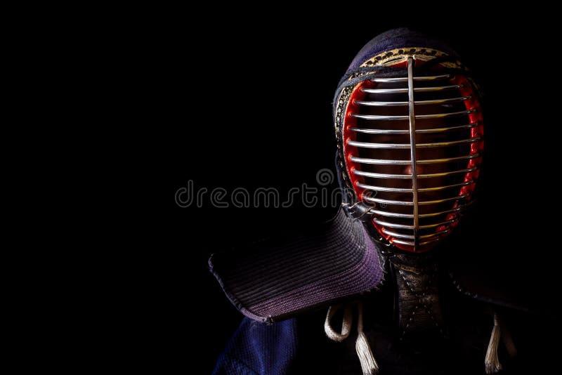 Head shot of kendoka royalty free stock images