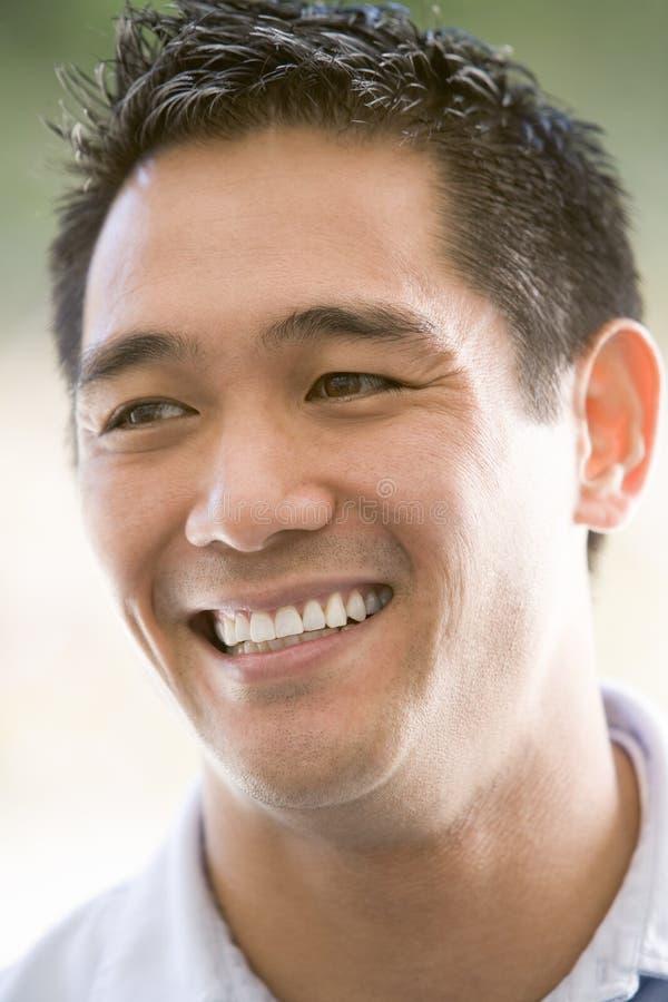 Head shot of man stock photo