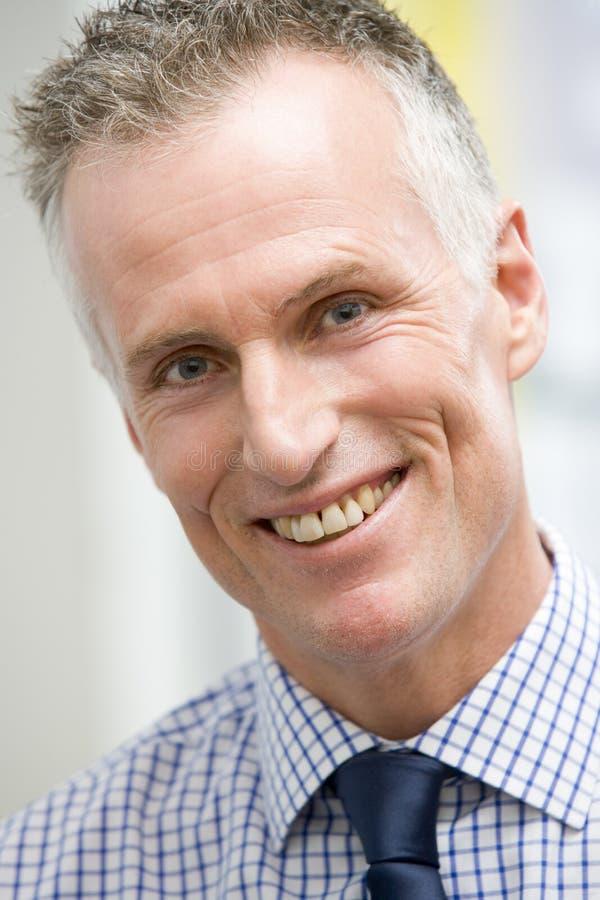 Head shot of man smiling stock photos