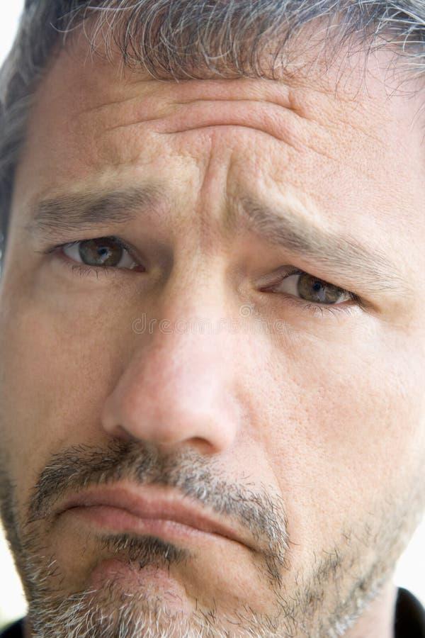 Download Head shot of sad man stock image. Image of portraits, emotion - 5944925