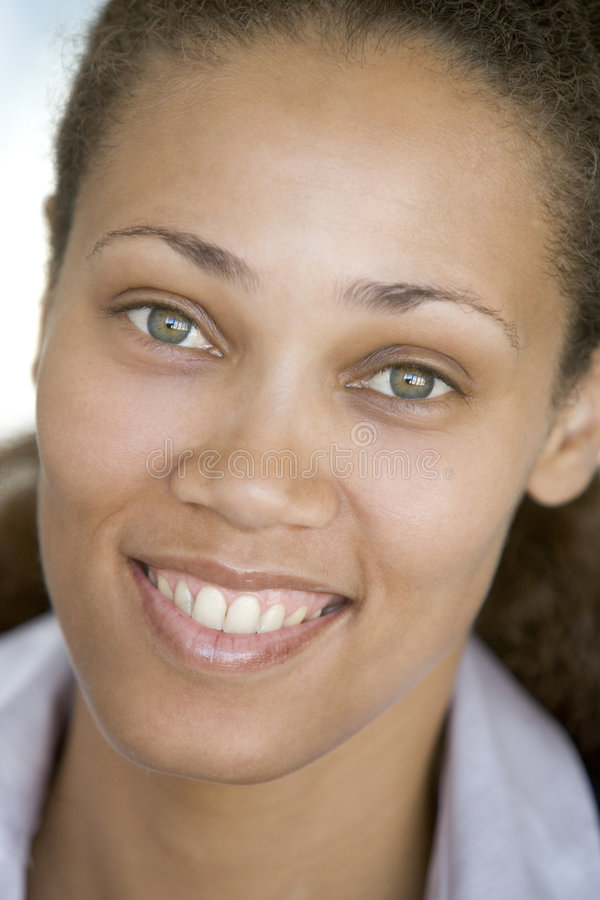 Head shot of woman royalty free stock photography