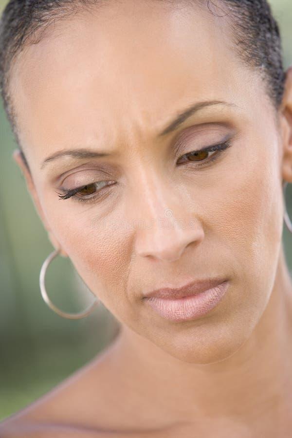 head shot woman στοκ εικόνα με δικαίωμα ελεύθερης χρήσης
