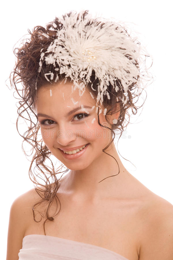 Download Head And Shoulders Of The Modern Bride Stock Photo - Image: 27898712