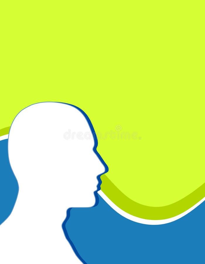 Download Head Silhouette Swoosh stock illustration. Illustration of illustrations - 5667348