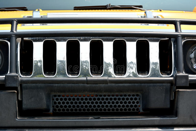 Head Of Sports Car Royalty Free Stock Photo
