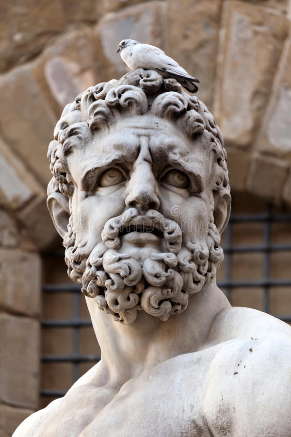 Download Head Of The Statue Of Hercules Stock Image - Image: 26262073