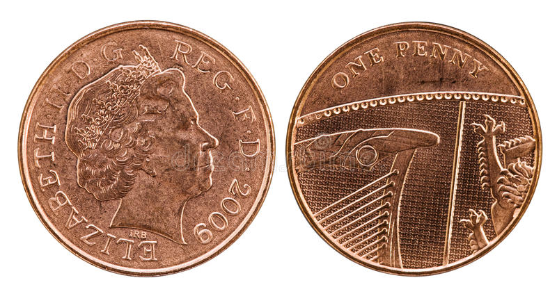 Download Head And Tail Of British Penny Stock Photo - Image: 29161242