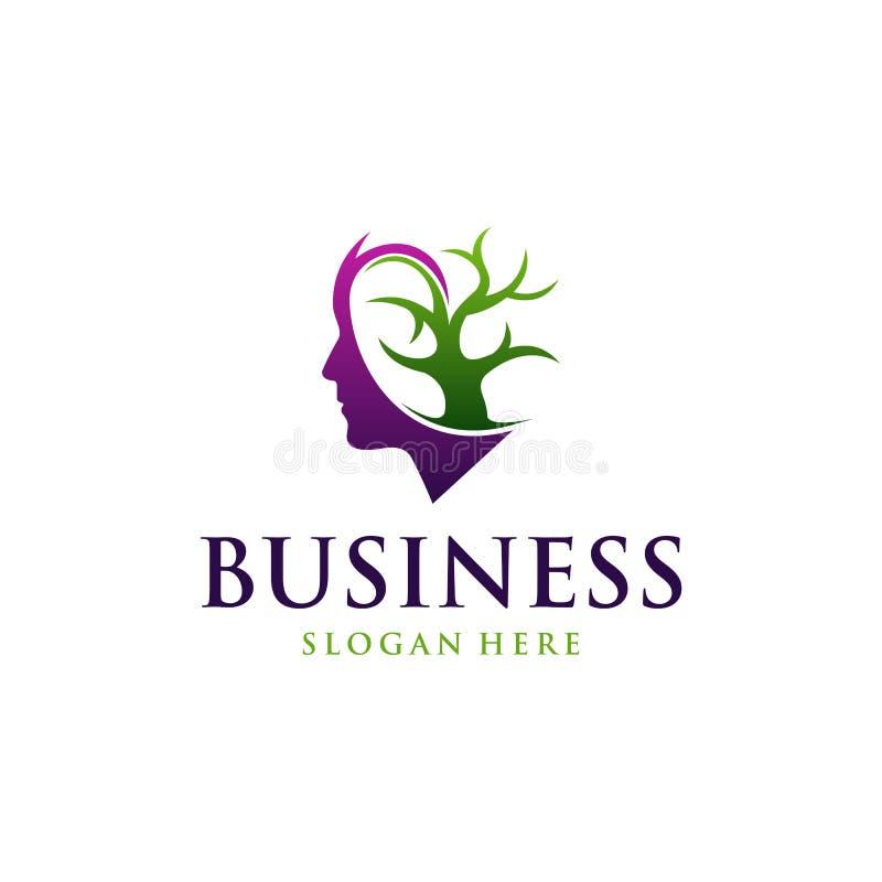 Free Head Tree Environment Abstract Ecology Business Logo Stock Photo - 197782430