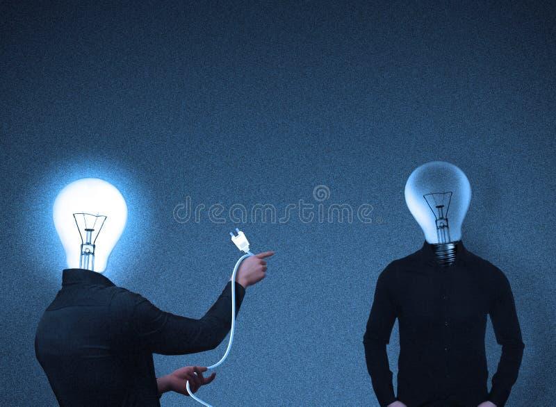 Download Head Växelverkanfolk För Kula Stock Illustrationer - Illustration av lampa, lurid: 510680