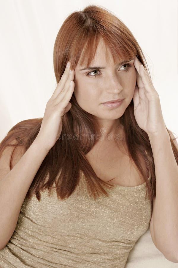 Download Headache stock photo. Image of health, teenager, woman - 1407514