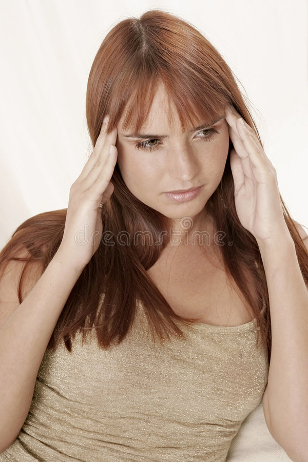 Download Headache stock image. Image of long, fringe, straight - 1407531