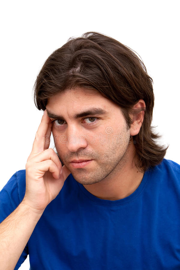 Download Headache stock photo. Image of background, shot, expression - 14110422