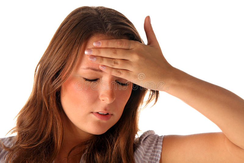 Download Headache stock photo. Image of emotion, overwhelmed, expression - 17310510