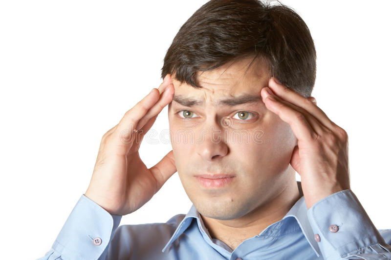 Download Headache stock photo. Image of depression, years, exhaustion - 19565462