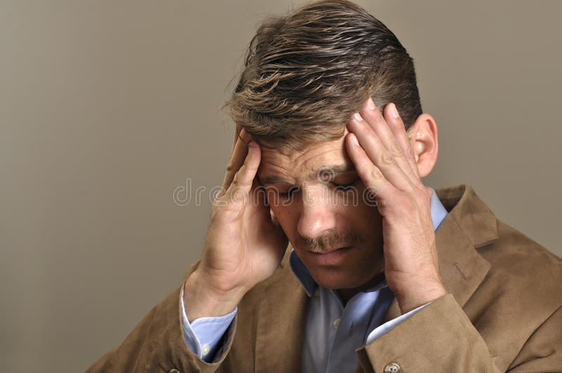 Download Headache stock image. Image of feel, stress, blond, business - 22430501