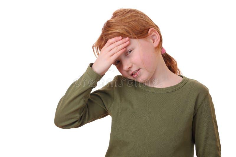 Download Headache stock photo. Image of girl, caucasian, cute - 22911488