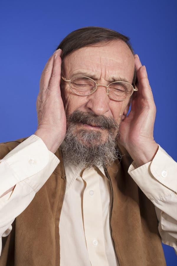 Download Headache stock photo. Image of hold, hand, male, senior - 29080364