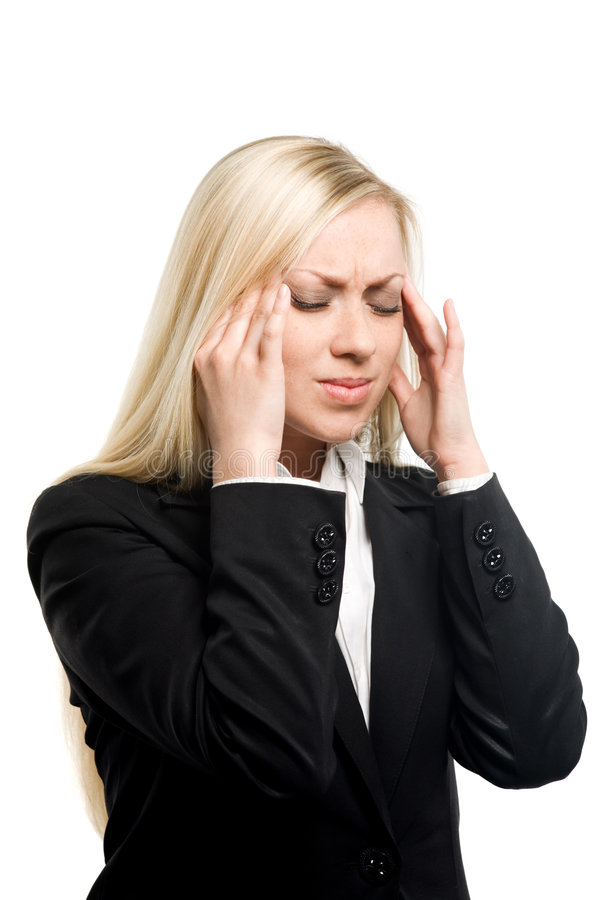Download Headache stock image. Image of looking, illness, female - 5772435
