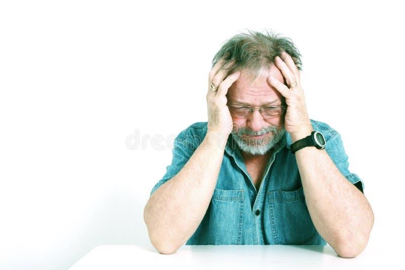Download Headache stock photo. Image of rubbing, home, head, casual - 8033178